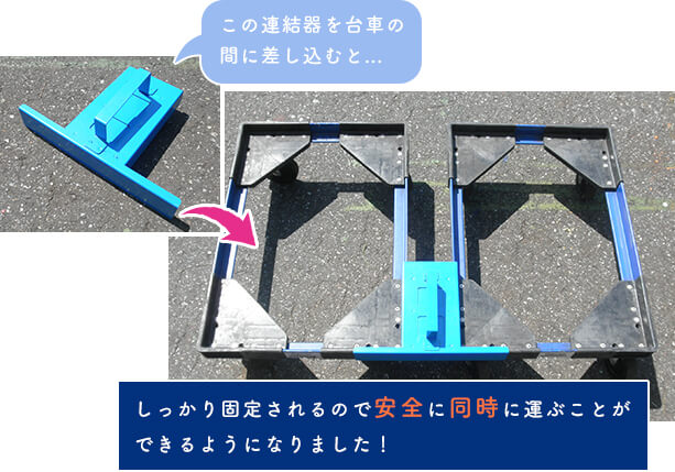 台車連結器
